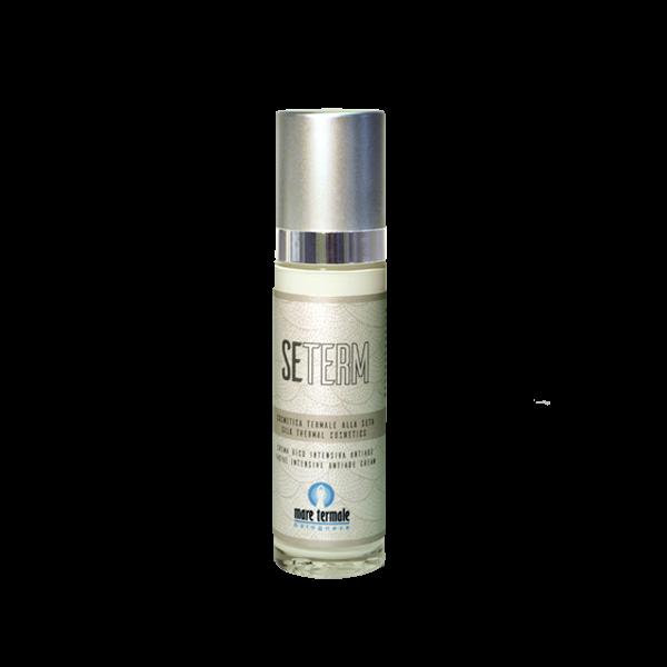 crema viso acqua termale e proteine della seta seterm
