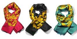 foulard in pura seta italiana