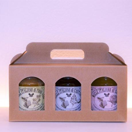 confezione regalo miele
